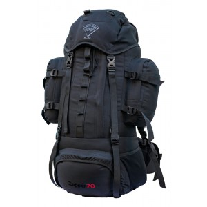 Mountcraft Rucksack Zapper 70L  Black RL15