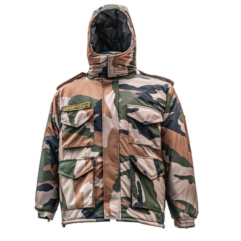 Mountcraft Pro Lite 3 in 1 cammo jacket
