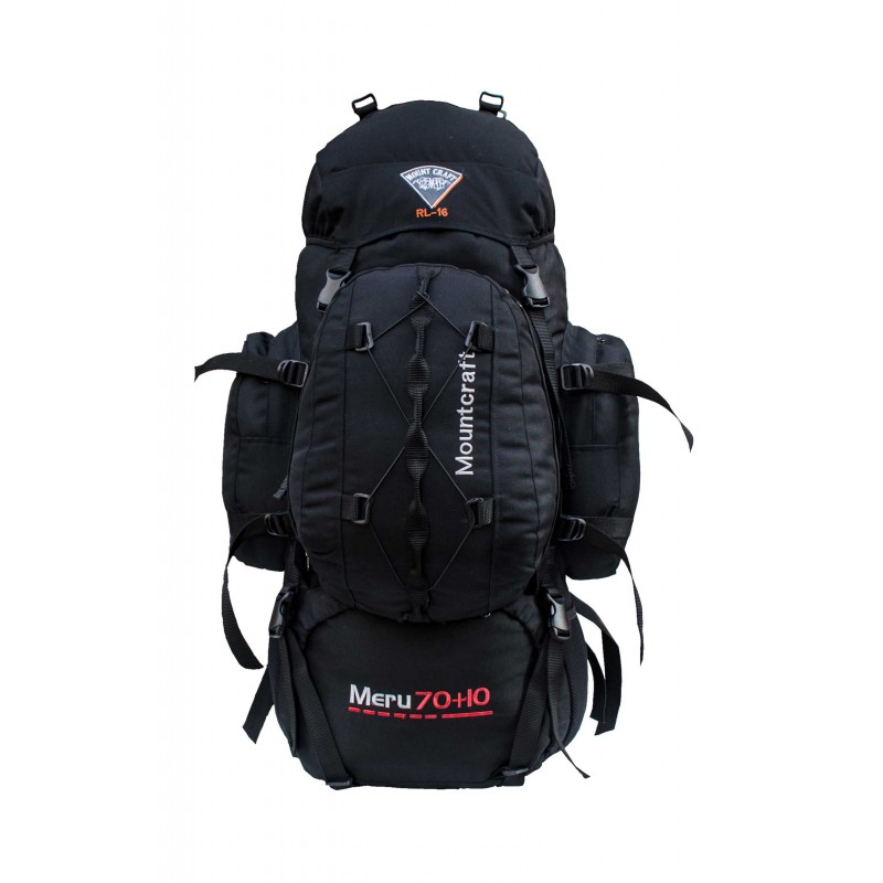 Mountcraft RL-16 Meru 70 +15 Backpack Black