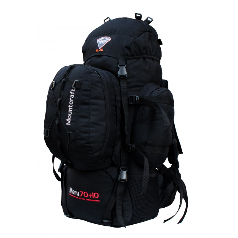 Mountcraft Rucksack With detachable Day Bag 80 L  Sp-Ops Black Meru RL16