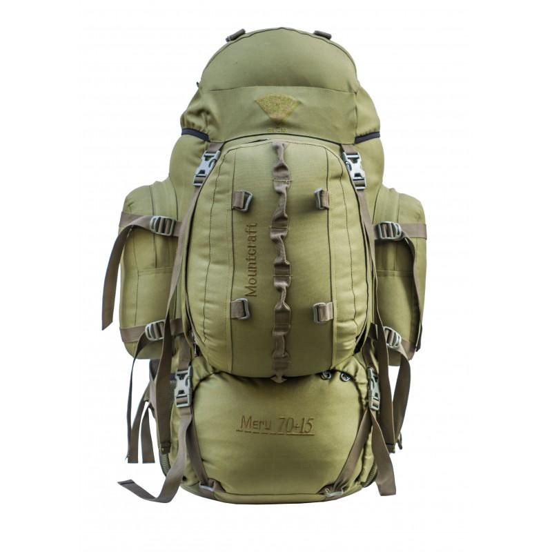Mountcraft Rucksack With detachable Day Bag 80 L Olive Drab Meru RL16