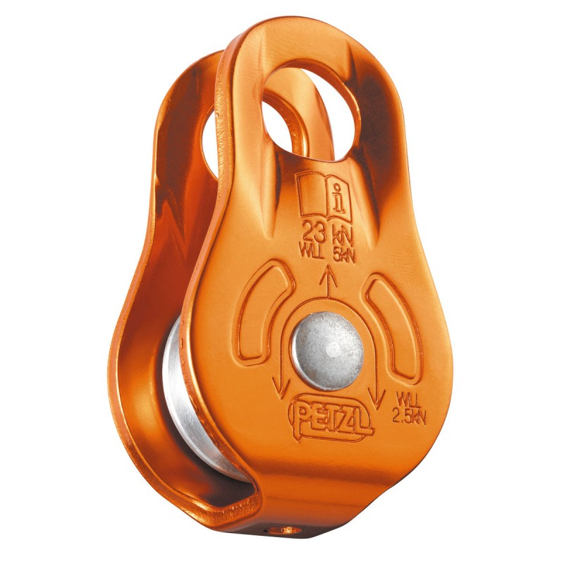 Petzl Fixe Pulley with fixed side plates