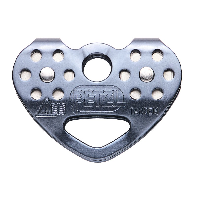 Petzl Tandem Speed Efficient double pulley for tra...