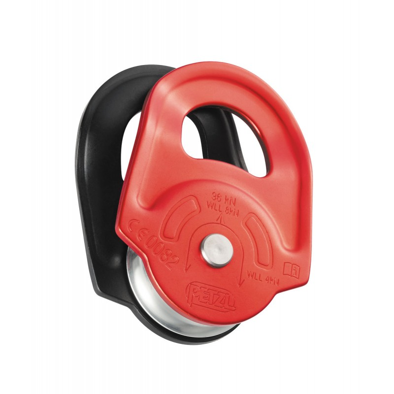 Petzl Rescue High-strength pulley with swinging si...