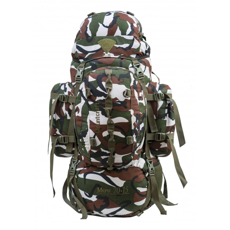 Mountcraft RL-16 Meru 70+15 CAMO Backpack