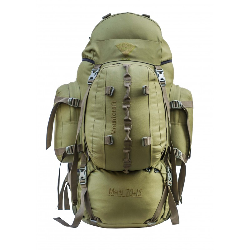 Mountcraft RL-16 Meru 70+15 Olive Green Backpack