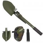 MOUNTCRAFT Multifunctional Outdoor Camping Army Mini Folding Spade Shovel Entrenching Tool