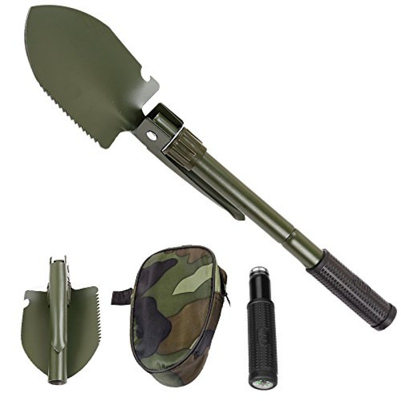 MOUNTCRAFT Multifunctional Outdoor Camping Army Mi...